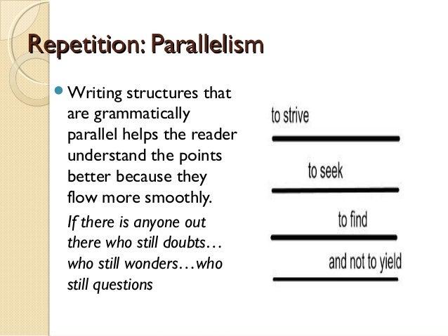 Parallelism essay writing » Original content