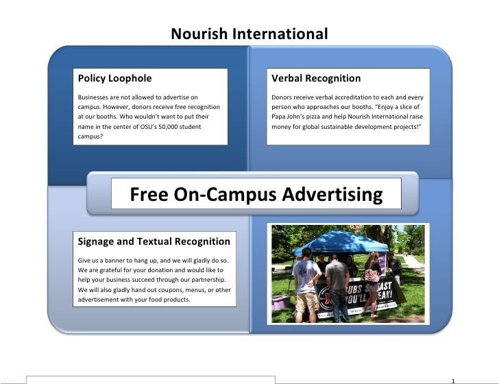 Nourish International  Policy Loophole                                          Verbal Recognition Businesses are not allo...