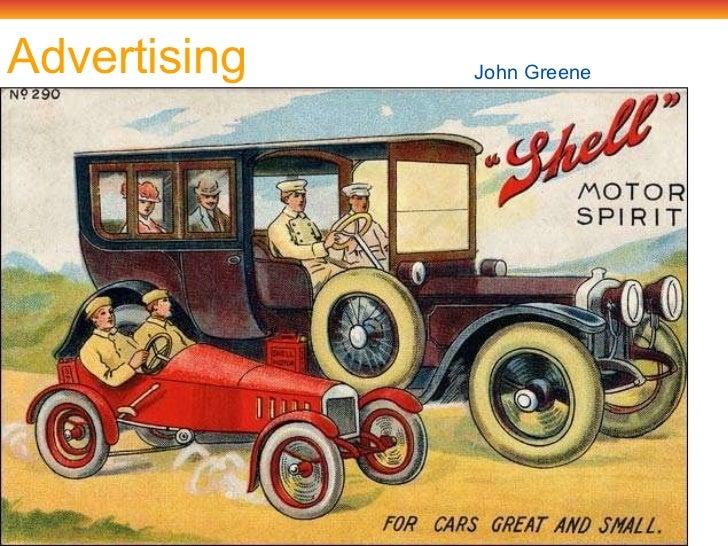 Advertising John Green e
