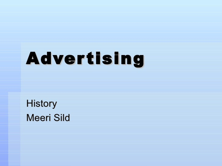 Advertising History 16292