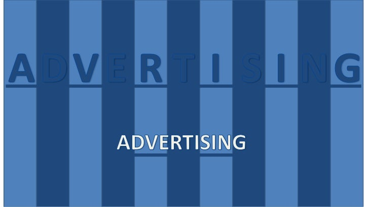 Advertising Your Key to Absolute Visibility
