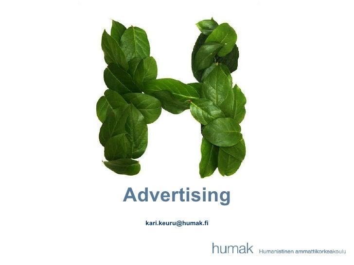 Advertising 25.1.11