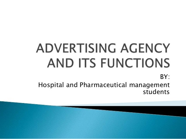 Advertisingagencyanditsfunctions 110214051140-phpapp02