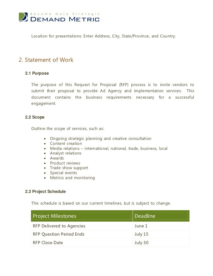 Advertising Request Letter Templates