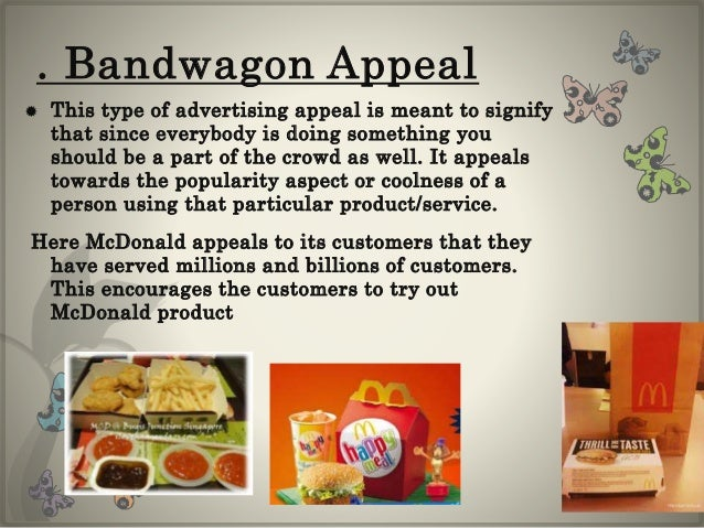 bandwagon appeal examples - photo #5