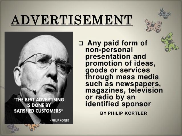 Any advertisement ideas?