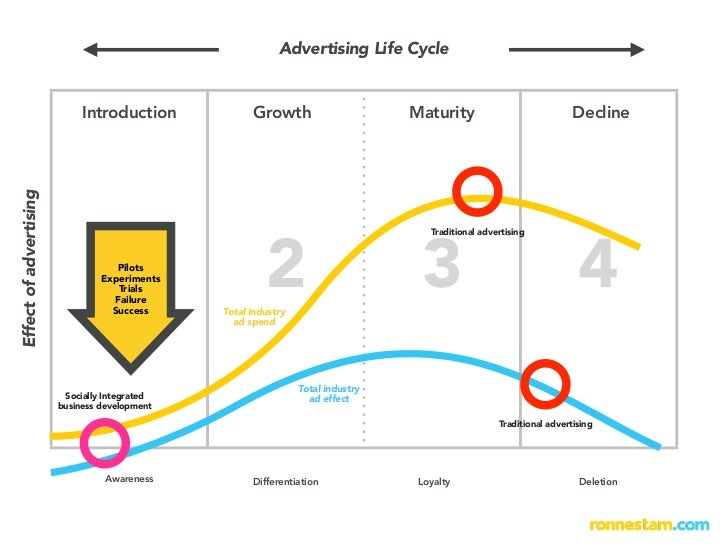 Advertising Life Cycle                                Introduction            Growth                      Maturity        ...