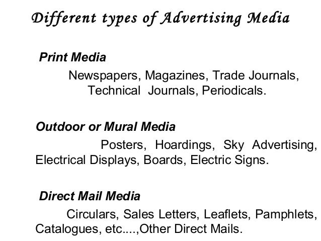 history of advertising in print media And the history of visual culture – have begun to address advertising in their   surveys by specialists on print and media culture have brought a rich cultural.