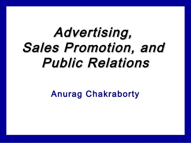Advertising sales promo