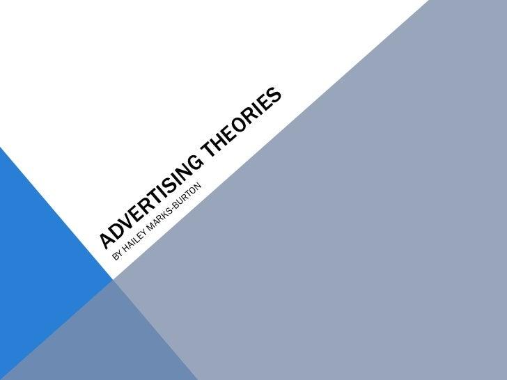 Advertising theories
