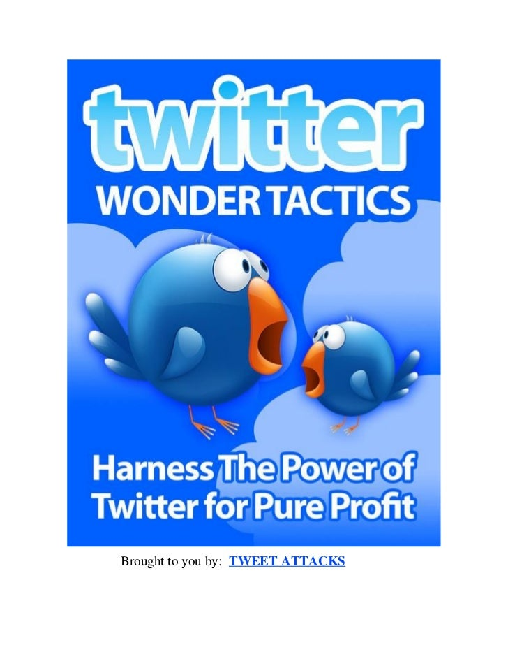 Advertising with twitter