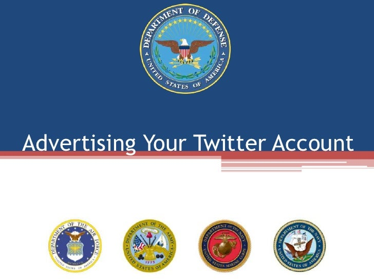 Advertising Your Twitter Account