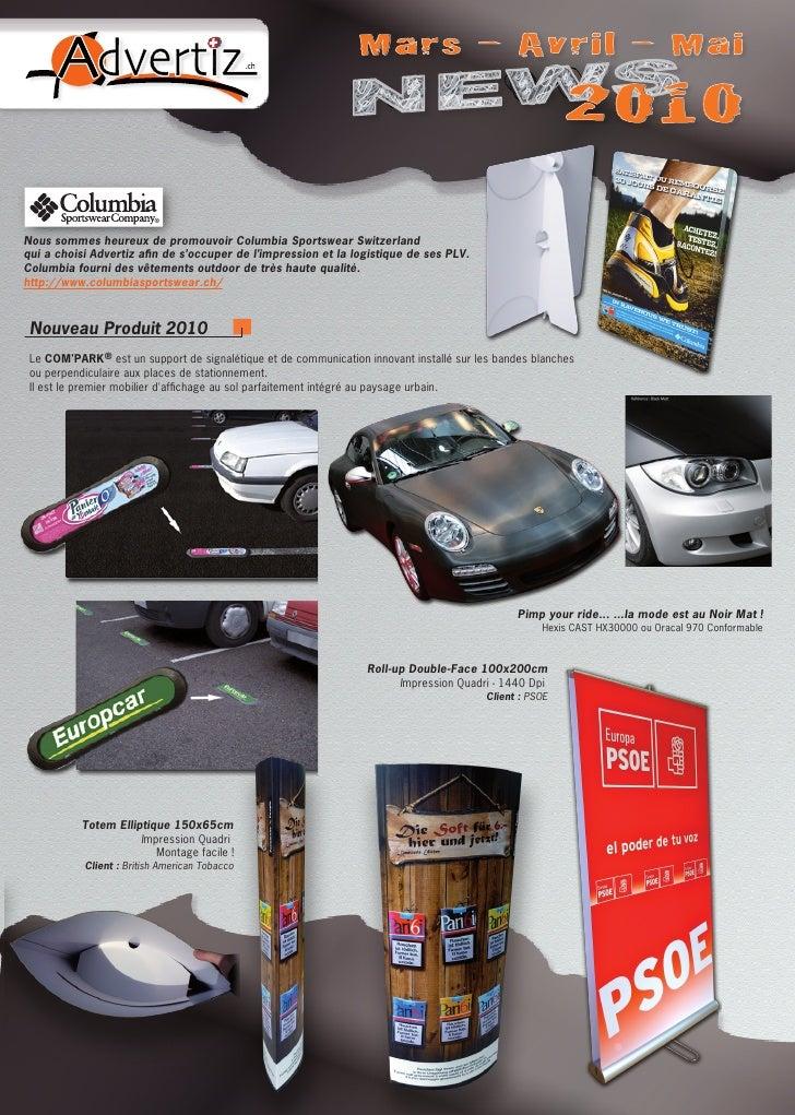 Advertiz Ch News 2010