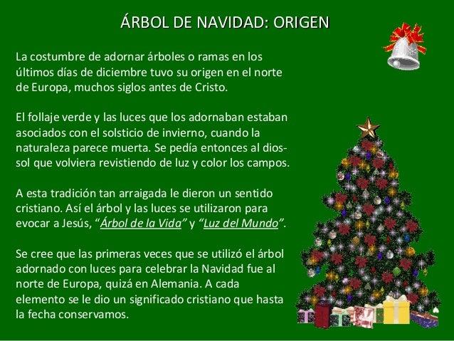 Adviento y navidad for Cuando se pone el arbol de navidad