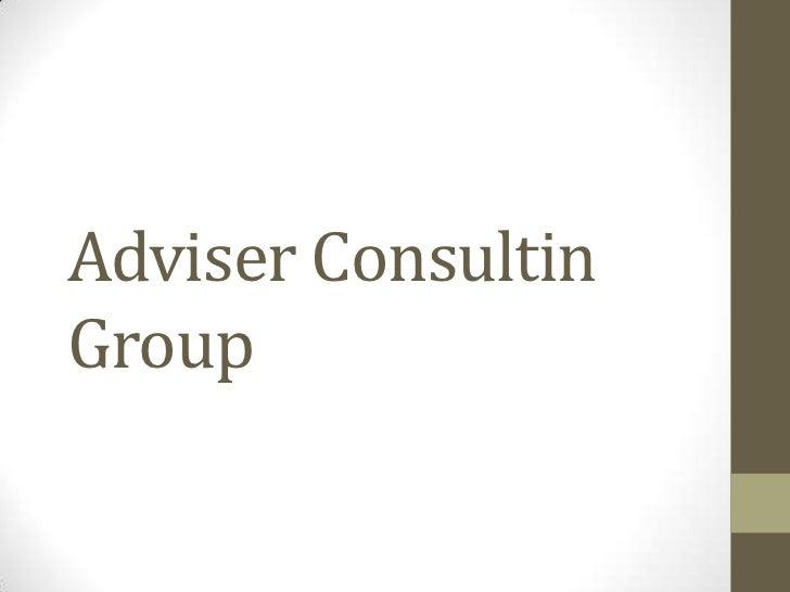 Adviser ConsultinGroup