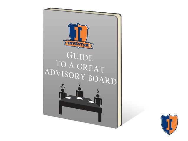 Guide to a Great Advisory Board