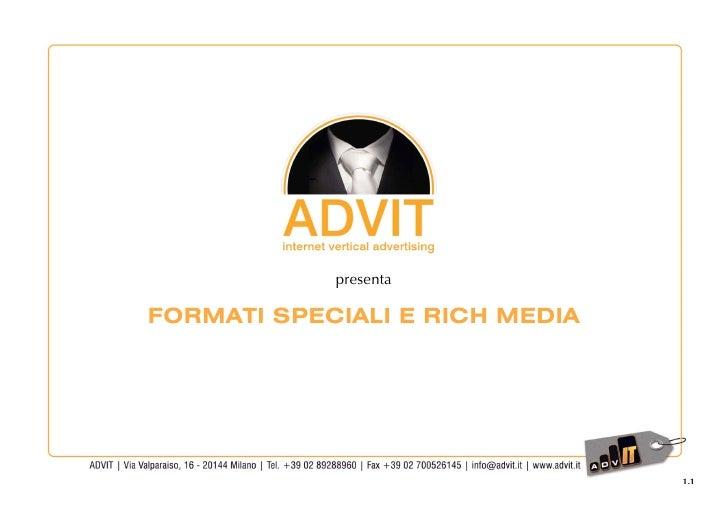 Advit | Formati Speciali e Rich Media