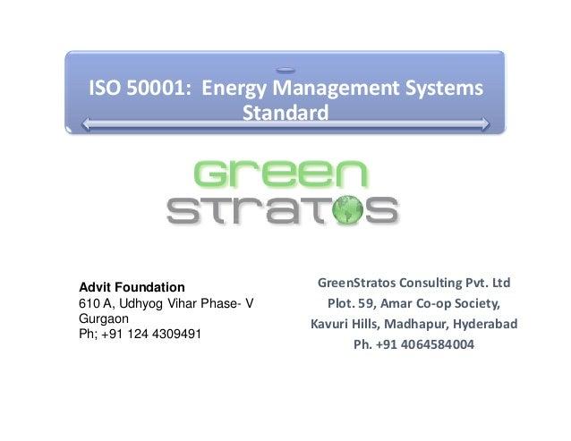 Advit Foundation_EMS  and ISO 50001