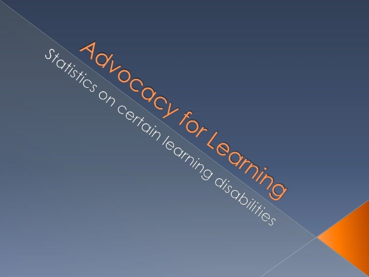 Advocacy for learning