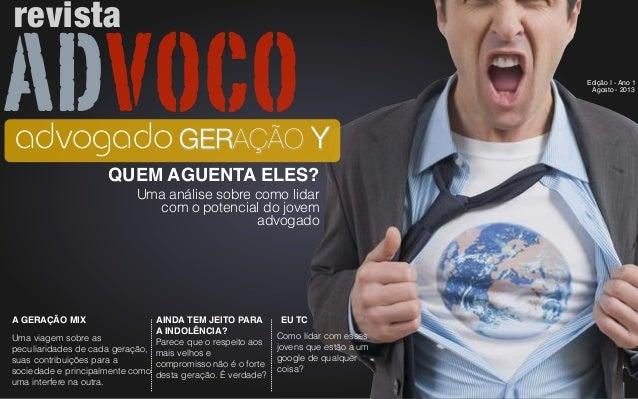 Advoco Brasil - Revista Eletrônica - Edição I - Ano I