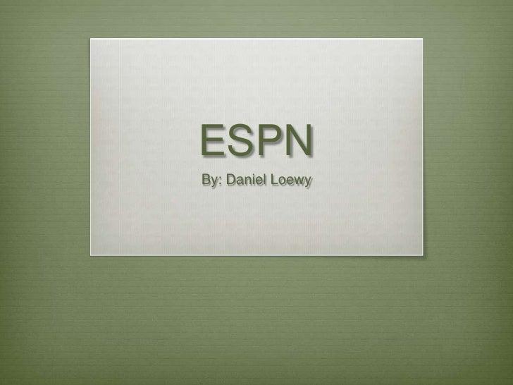 ESPN Final Project