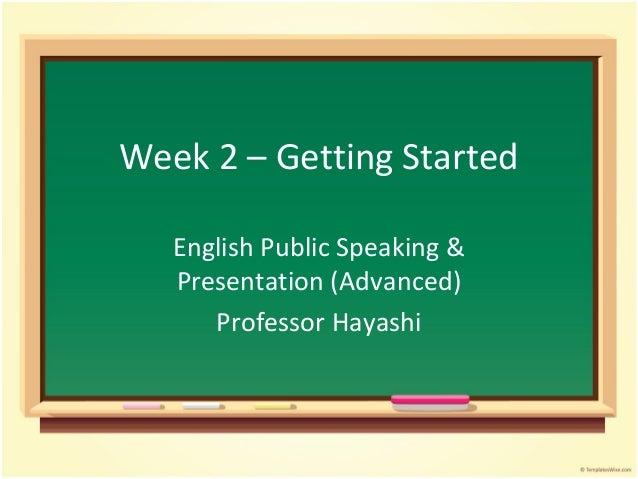 Advpres week2