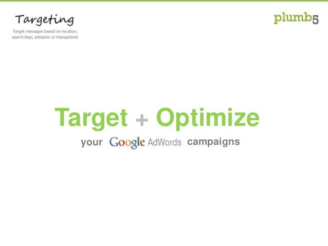 your Target + Optimize campaigns
