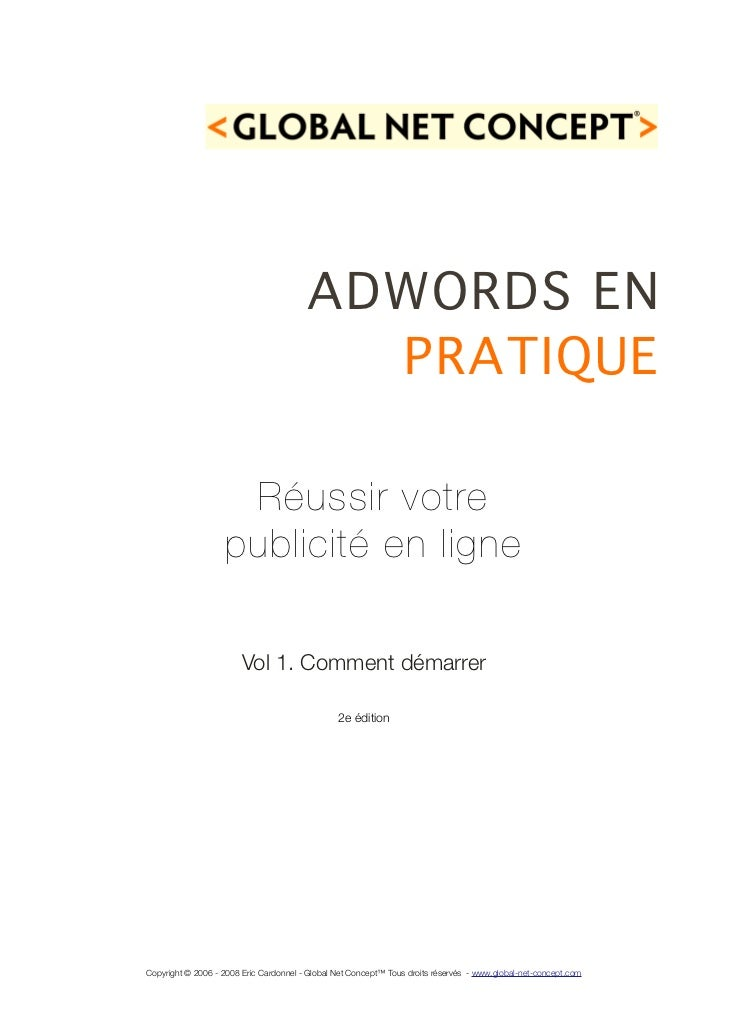 Adwords en-pratique-vol1