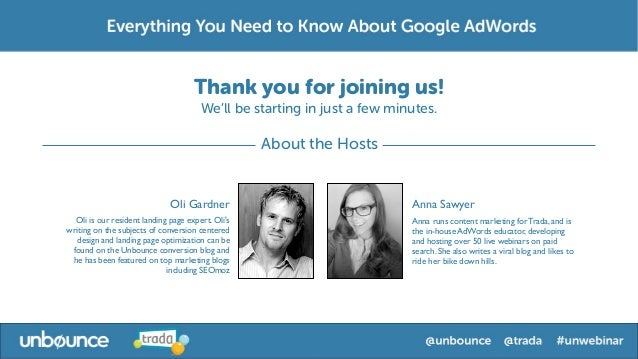 Everything You Want to Know About Google AdWords Webinar