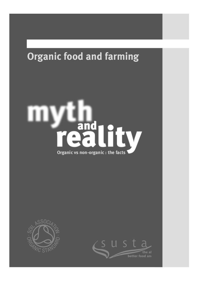 Organic food and farming: an introduction - Explain that Stuff