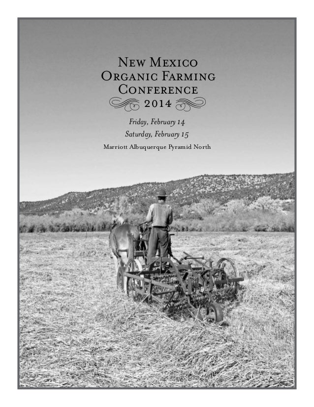 New Mexico 2014 Organic Farming Conference