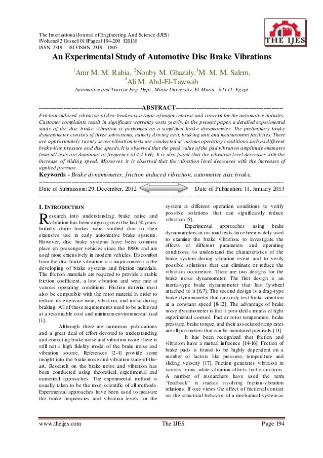 The International Journal of Engineering And Science (IJES)||Volume|| 2 ||Issue|| 01 ||Pages|| 194-200 ||2013||ISSN: 2319 ...