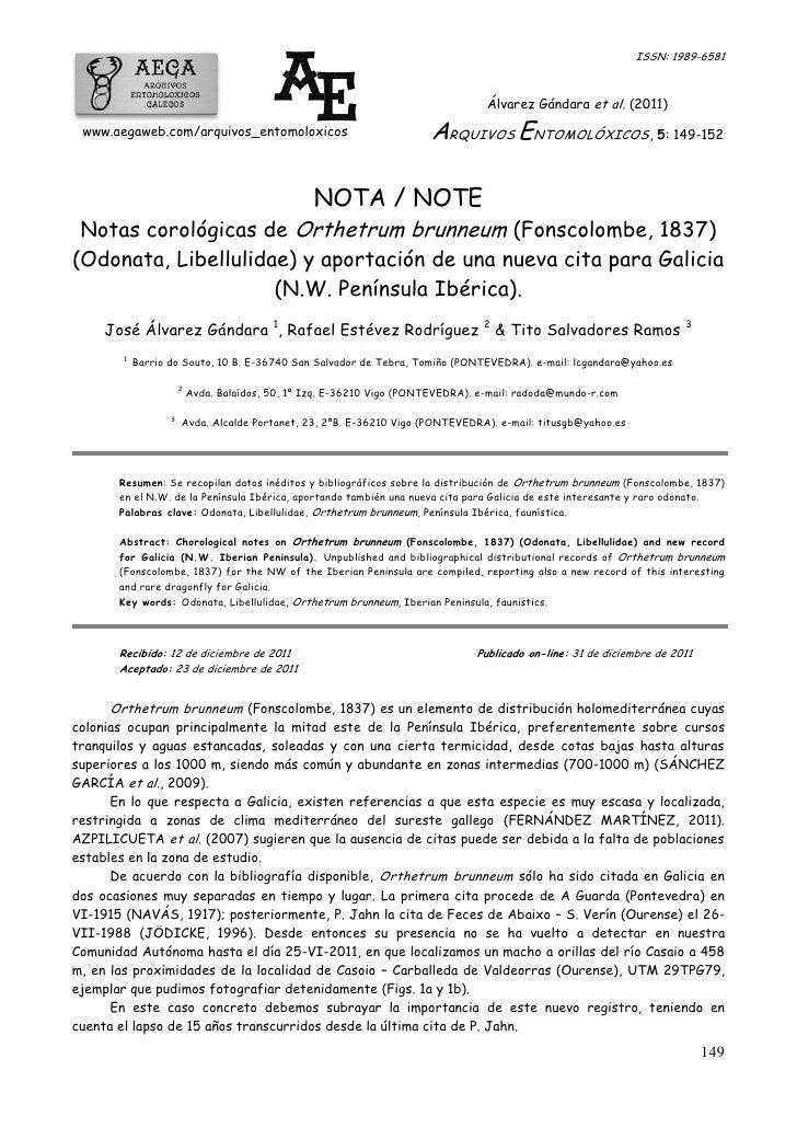 ISSN: 1989-6581                                                                                   Álvarez Gándara et al. (...