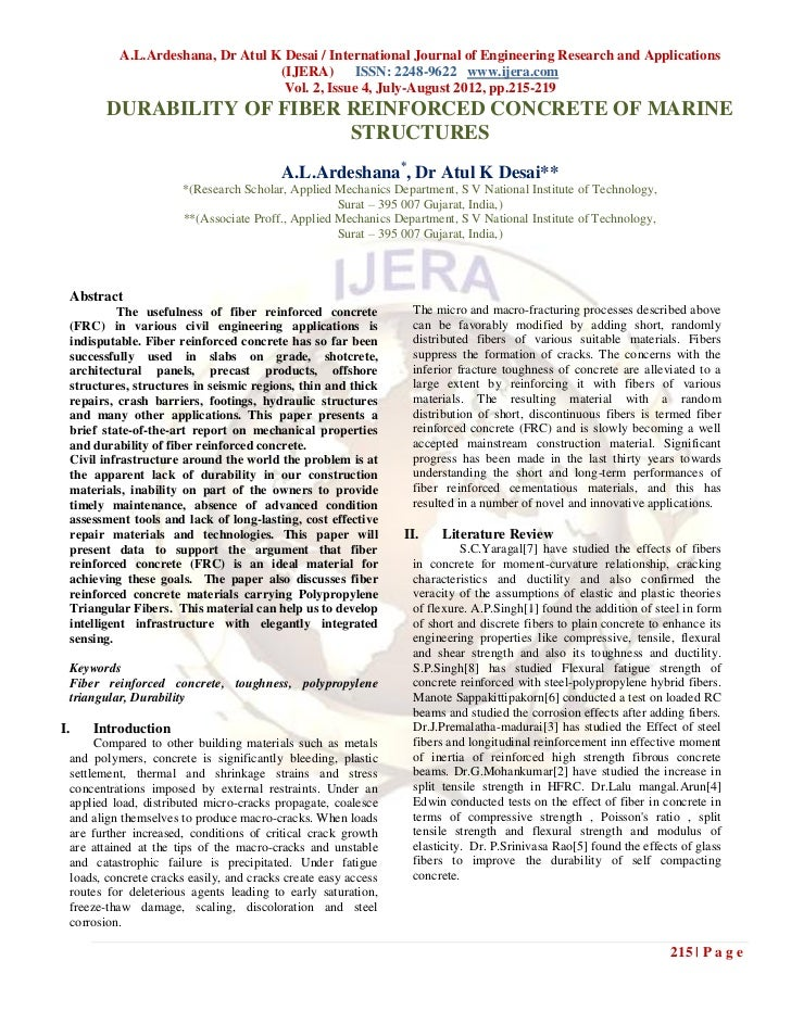 A.L.Ardeshana, Dr Atul K Desai / International Journal of Engineering Research and Applications                           ...