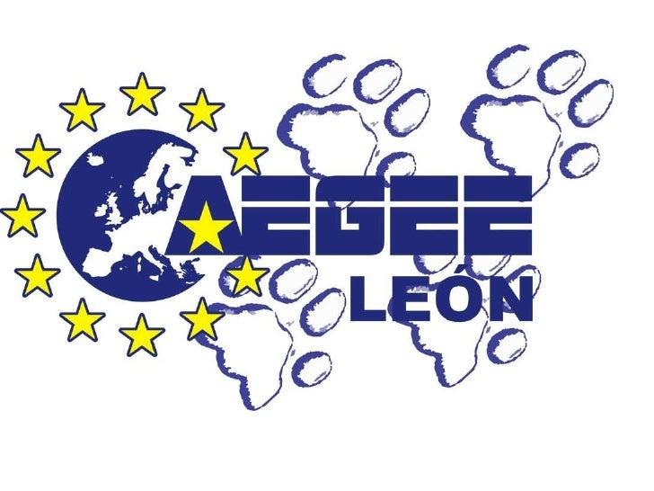Aegee León bienvenida estudiantes  internacionales Universidad de León 2011 2012