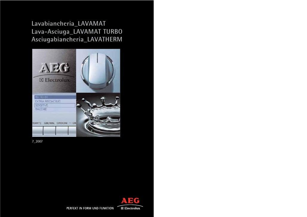 Aeg Lavaggio2007 Def