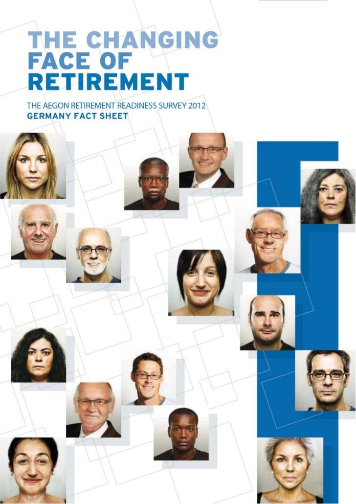 Aegon Retirement Readiness Survey Germany