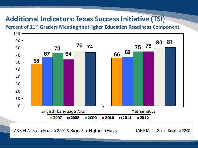 What is the Texas Success Initiative?