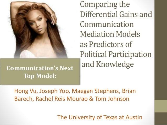 Communication's Next Top Model