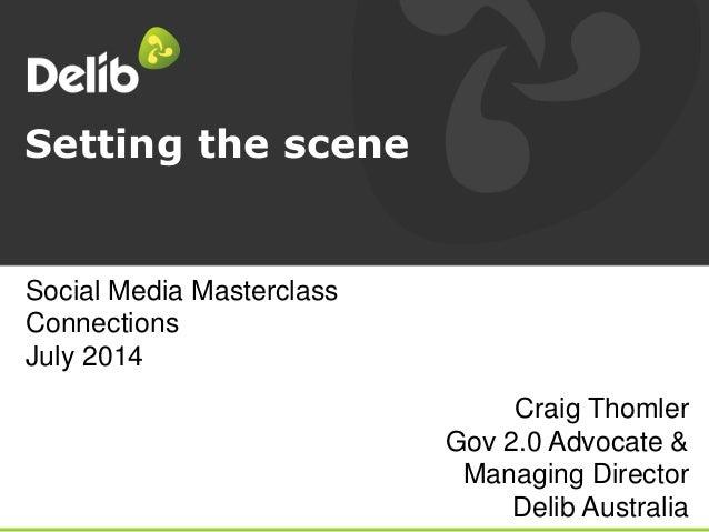Setting the scene: emergencies in social media