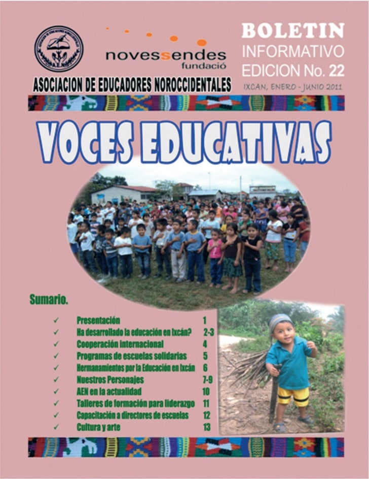 VOCES EDUCATIVAS