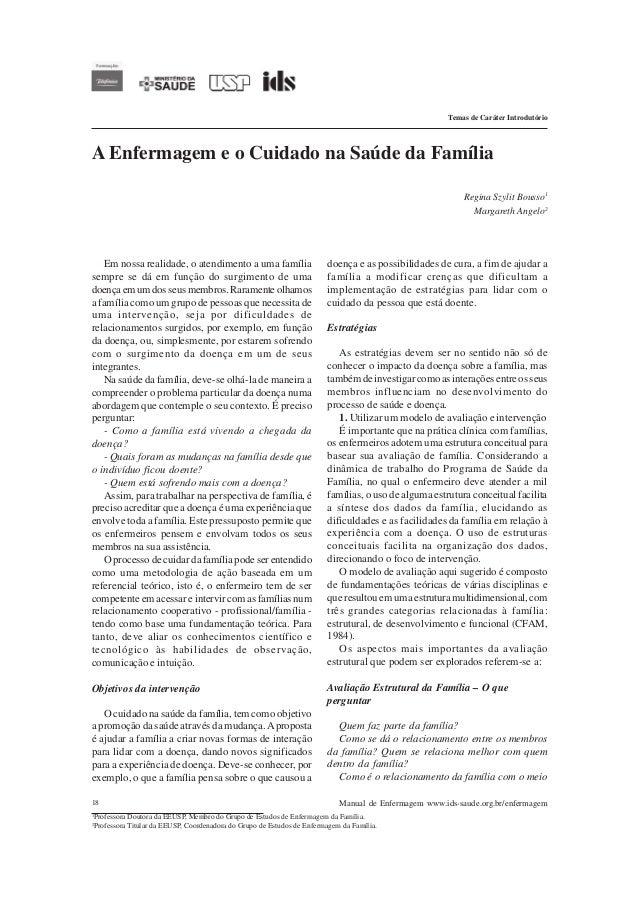 Temas de Caráter IntrodutórioA Enfermagem e o Cuidado na Saúde da Família                                                 ...