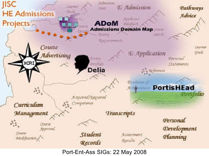Port-Ent-Ass SIGs: 22 May 2008
