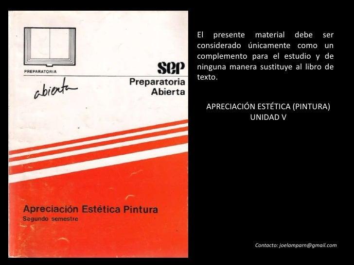 Créditos sobre textos e imágenes<br /><br />El presente material debe ser considerado únicamente como un complemento para...