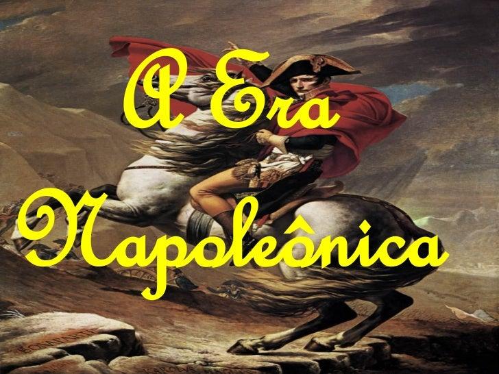 A era napoleônica finalizado