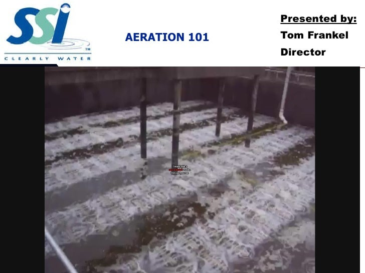 AERATION 101 Presented by : Tom Frankel Director 08/31/09