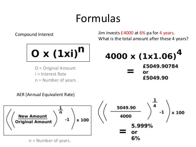 compound interest and rate Compound interest formula compound interest - meaning that the interest you earn each year is added to your principal, so that the balance doesn't merely grow, it grows at an increasing rate - is one of the most useful concepts in finance it is the basis of everything from a personal savings plan to the long term growth of the stock market.