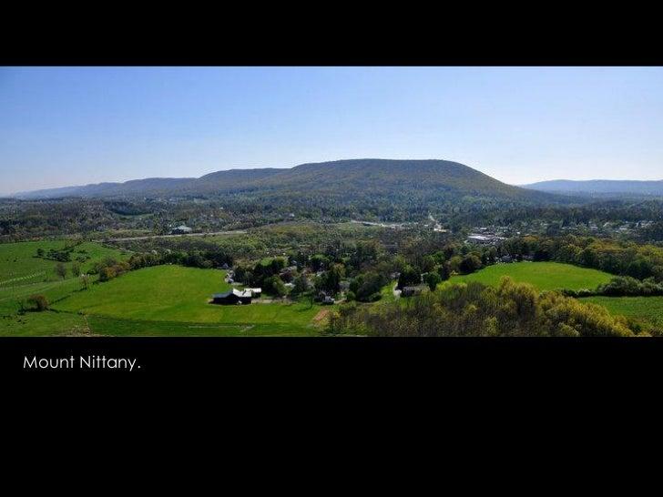 Mount Nittany.