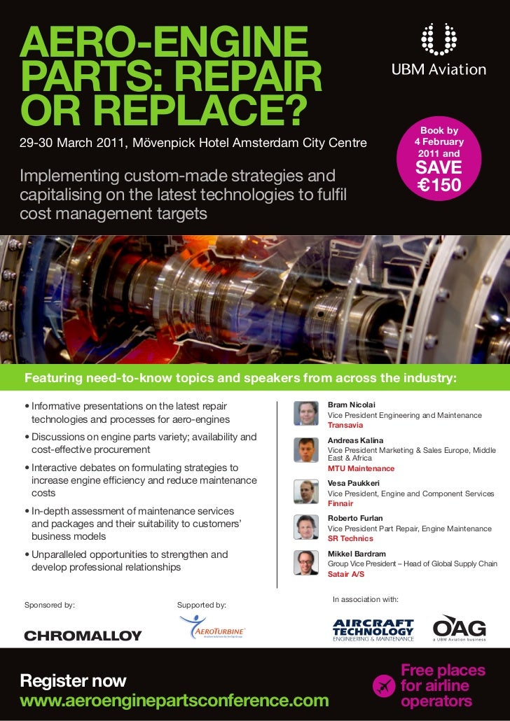AERO-ENGINEPARTS: REPAIROR REPLACE?                                                                          Book by29-30 ...
