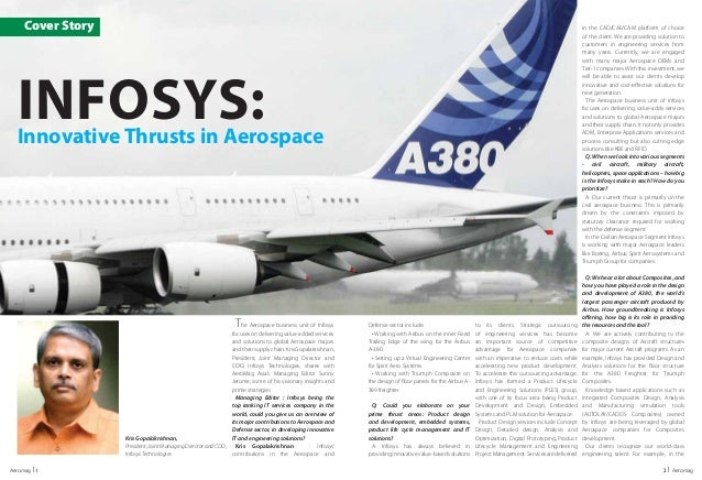 Infosys - Aerospace OEM Business Optimization | IT Solutions